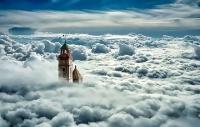 Колокольня в облаках, Испания