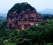 Пещерные монастыри Майцзишань, Китай