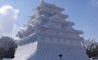 Япония, Саппоро. Фестиваль снежных фигур