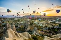 Фестиваль воздушных шаров. Каппадокия, Турция